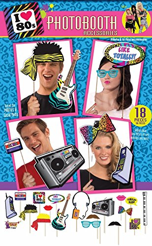 Photo Booth Accesory - 80s (80s Themes)