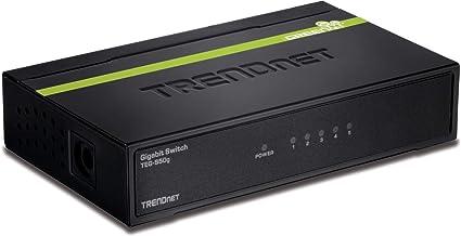 TRENDnet 5-Port Unmanaged Gigabit GREENnet Desktop Metal Housing Switch