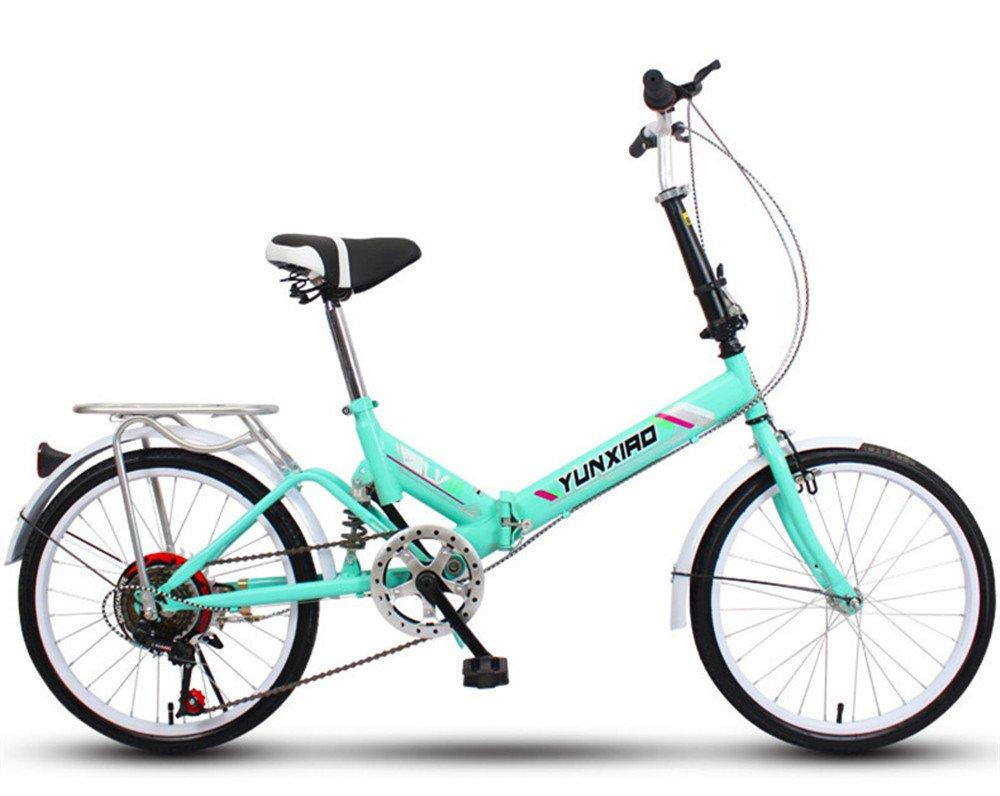 折りたたみ自転車 折り畳み 16インチ 20インチ 変速自転車 単速  変速 通勤 通学 小型 小径 簡単収納 B07C9RKTWW 20インチ変速 P P 20インチ変速
