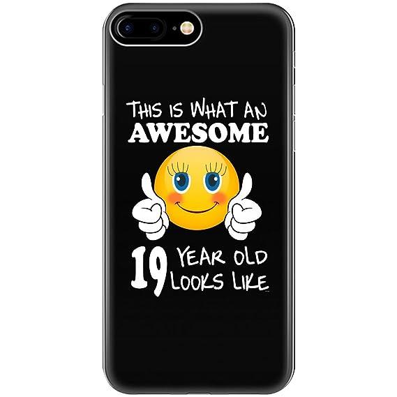 Emoji Birthday 19th Presents Woman 19 Year Old Gift