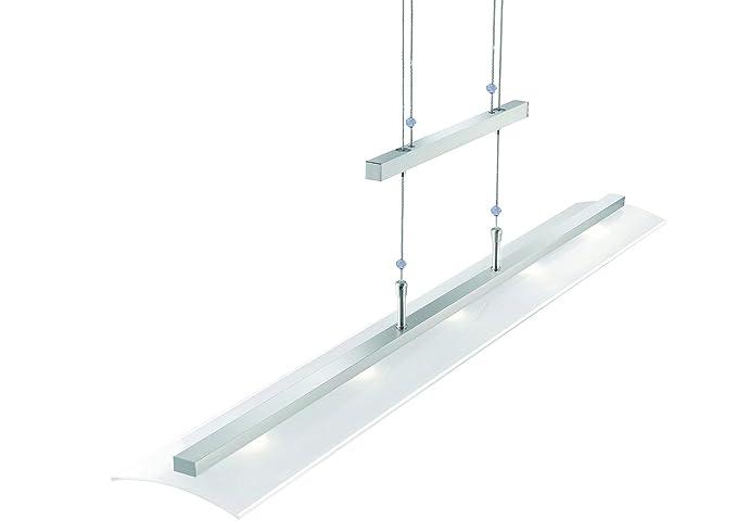 De altura regulable LED-lámpara de techo 5-lámpara de techo ...