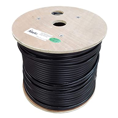 altelix ax400uf 400 Ultra Flex doble blindado flexible cable coaxial de baja pérdida 500 pies carrete
