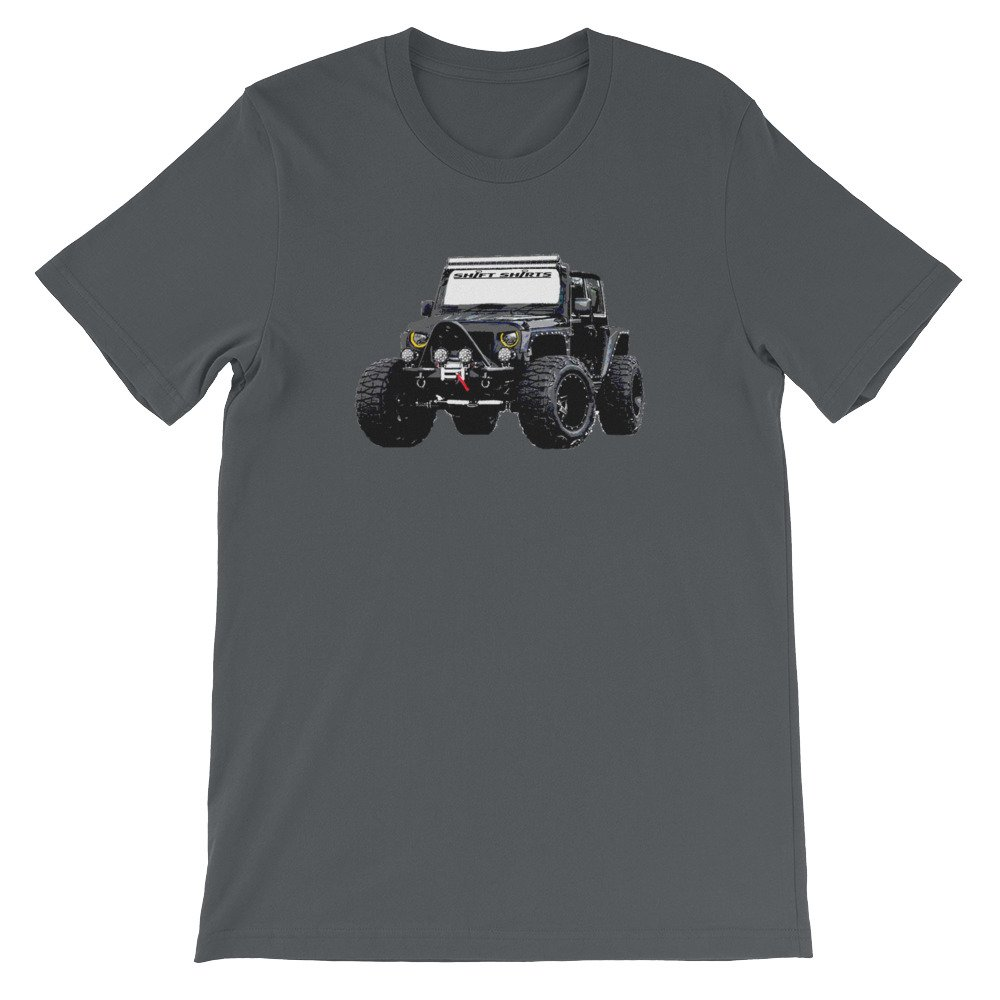 Jeep Wrangler Inspired Unisex T-Shirt Shift Shirts New discoveries