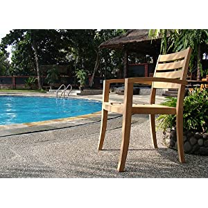 61ad-CCyFmL._SS300_ Teak Dining Chairs & Outdoor Teak Chairs