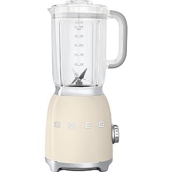 SMEG BLF01 - Batidora 1,5L crema/lacado/800W/4 niveles de potencia: Amazon.es: Hogar