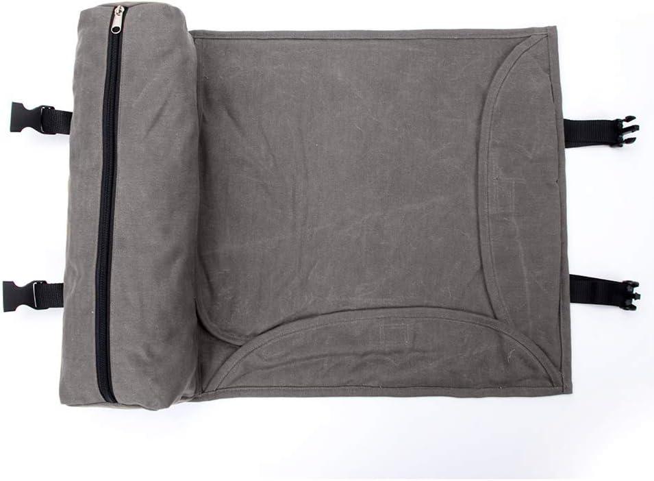 Portable Bar Sets Roll Bag Kit with Large Capacity Green Cocktail Making Tool Bag for Home,Bar,Wokplace,Travel TUXI Bartender Tool Bag Bartender Bag