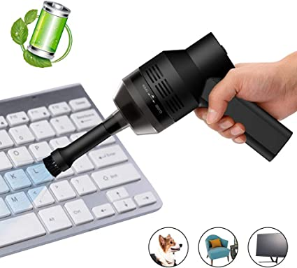 zonpor Mini Aspiradora de Mano USB Recargable Aspiradora sin Cable ...