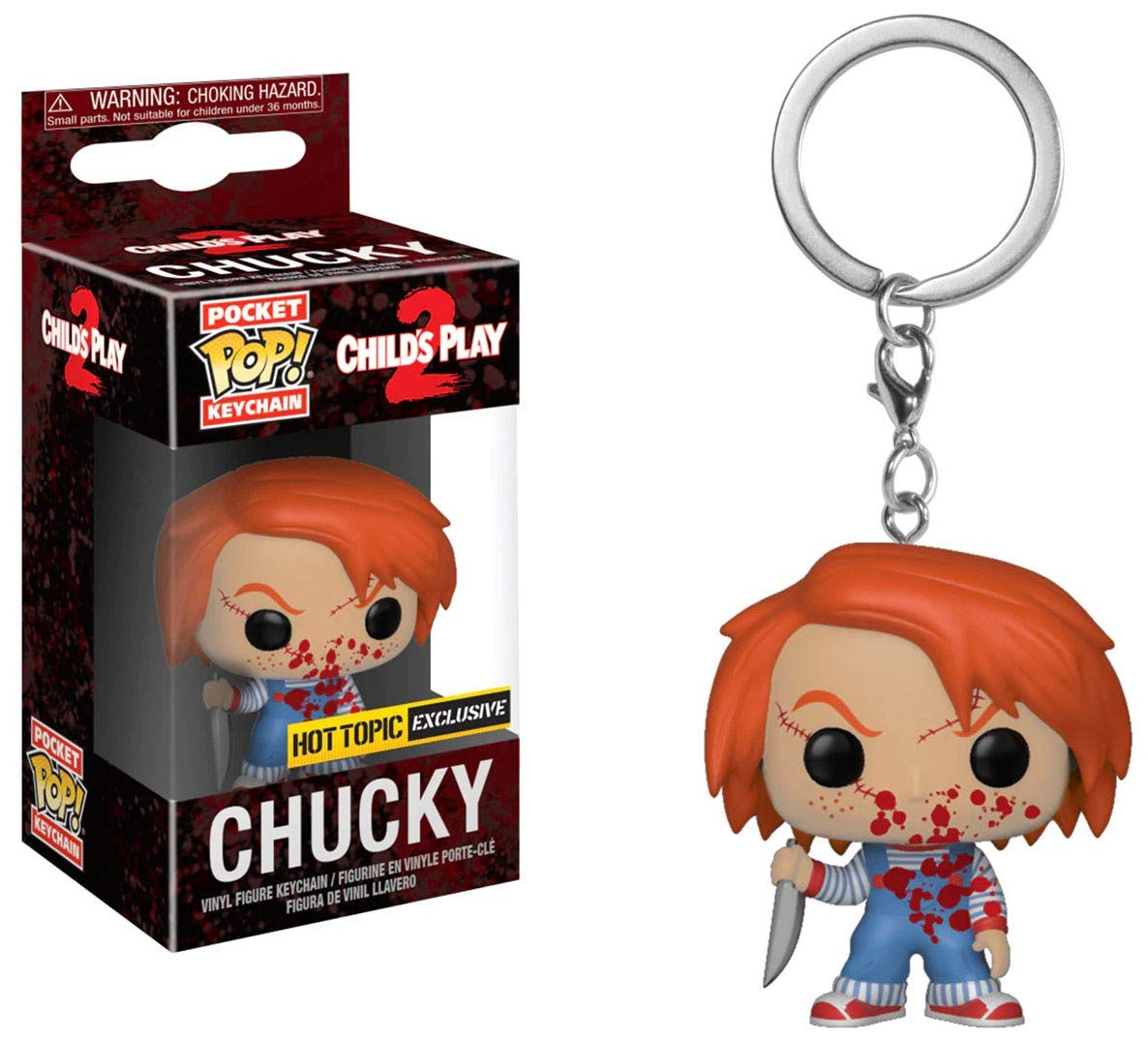 Funko POP! Keychain - Childs Play 2 - Chucky [Exclusive!]