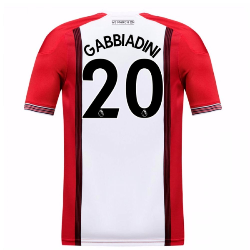 2017-18 Southampton Home Football Soccer T-Shirt Trikot (Manolo Gabbiadini 20) - Kids