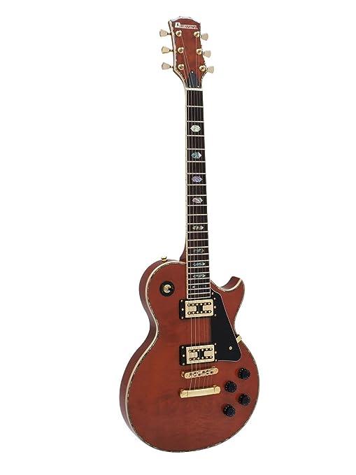 Set 2 x Guitarra eléctrica METEOR HIT, rojo-marrón - 2 unidades de ...