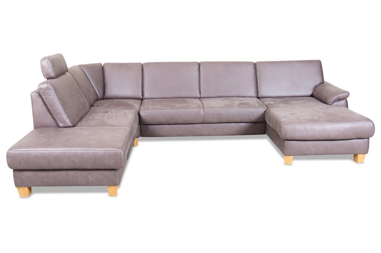 Sofa Sit More U Wohnlandschaft Xl Links Winston Luxus Kunstleder