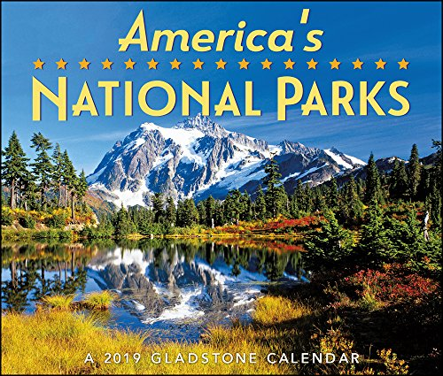 2019 America's National Parks Desk Calendar