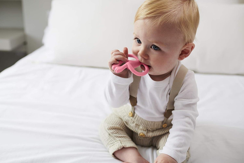 Matchstick Juego de dentici/ón de mono rosa rosa Talla:6-18 Months