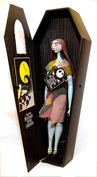 amazoncom nightmare before christmas 17 sally doll black coffin toys games