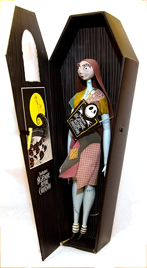 nightmare before christmas 17 sally doll black coffin - Nightmare Before Christmas Sally Doll