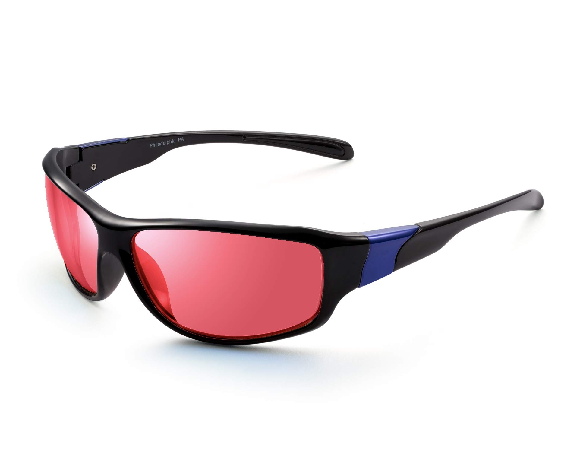 Pilestone TP-016 Color Blind Corrective Glasses for Red-Green Blindness - Streamline Sports Use