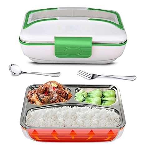 Amazon.com: supow Lunch Box, Portable Calefacción Eléctrica ...