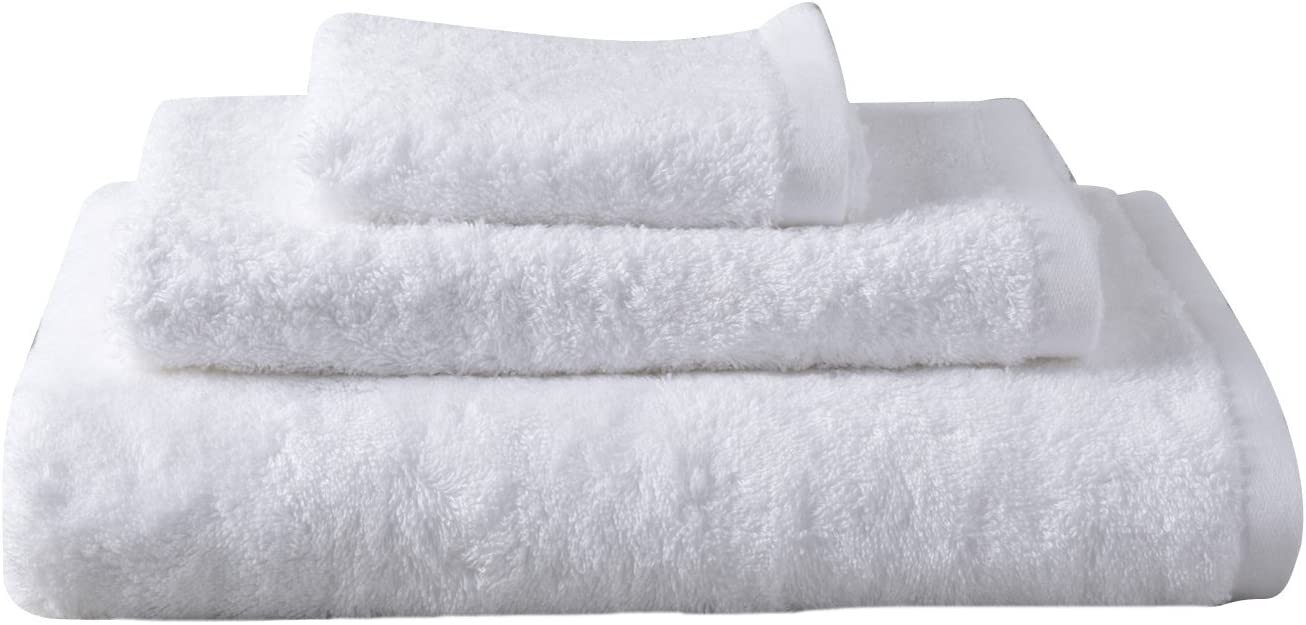 Eco-Friendly Large Oversized Hotel-Spa Bath Towel by Chakra Hypoallergenic Large Bath Towels Ultra Soft Quick Dry 33x60 Turkish Bamboo Cotton Blend Luxury Set of 2 Bath Sheets White