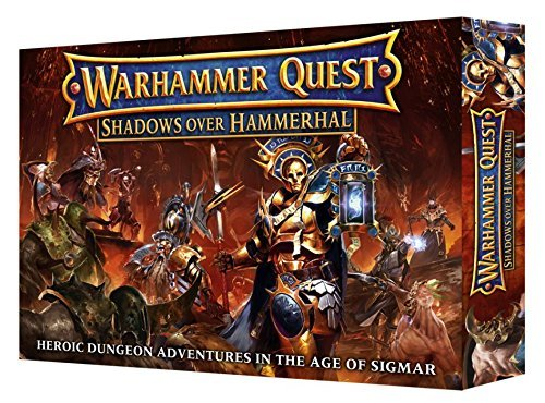 Games Workshop Warhammer Quest Shadows Over Hammerhal