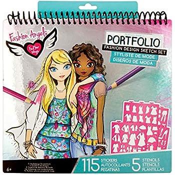 Amazoncom Fashion Angels Fashion Design Sketch Portfolio Toys Games