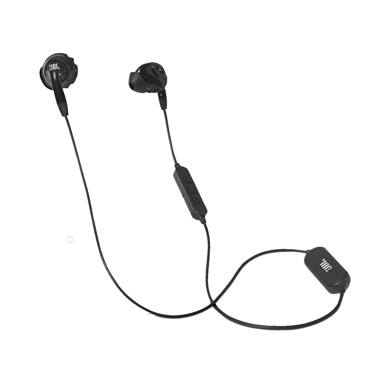 JBL Inspire 500 Outdoor Activity Style Sports in-Ear Earbuds Bluetooth Wireless Sports Earbud Headphones Mic Remote, Black (Non-Retail Packaging)