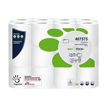 Papernet Selbstauflösendes Toilettenpapier Bio Tech 2 Lagig 24 Rollen Für Camping U Boot Produktname Gewerbe Industrie Wissenschaft