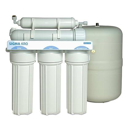 ATH - Ósmosis Inversa 5 Etapas Sigma Kro - Sistema de agua filtrada potable para Beber