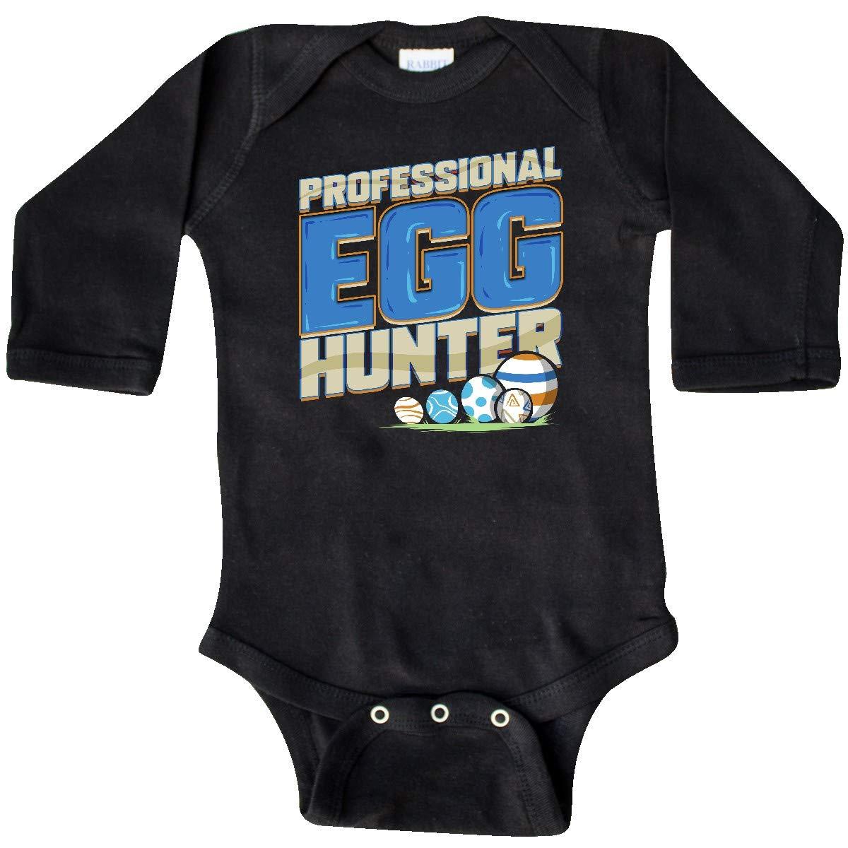 399f93e2315 Amazon.com  inktastic - Easter Professional Egg Hunter Long Sleeve Creeper  340f8  Clothing