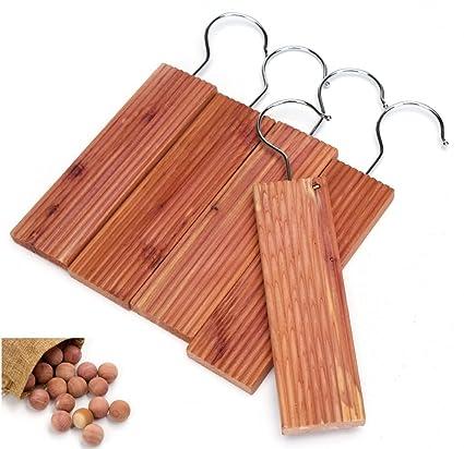 Wahdawn Moth Mildew Protection Repellent Closet Cedar Hanging Blocks    Wardrobes Smells Fresh Light Cedar Fragrance