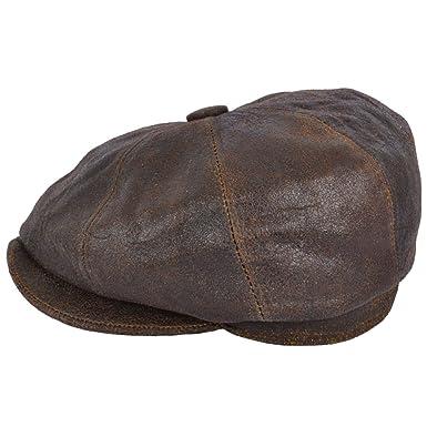 d43b260d Gladwinbond Gladwin Bond Sheepskin Leather 8 Panel Cap: Amazon.co.uk:  Clothing