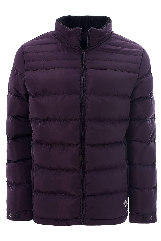 Mens Soulstar Longline Bomber Jackets MA1 Style Casual Padded Winter Parka Coat