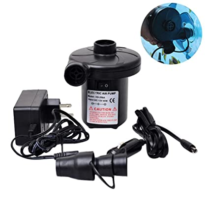 Very Fast Electric Air Pump, 220V AC/12V DC 50W Electric Inflatable/Deflated