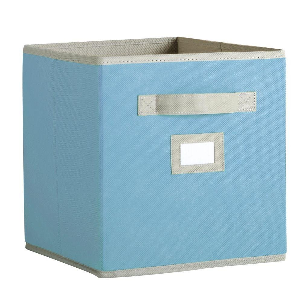 10-1/2 In. X 11 In. Cloudless Day Fabric Drawer with Label Window That Makes Identifying Contents Easy