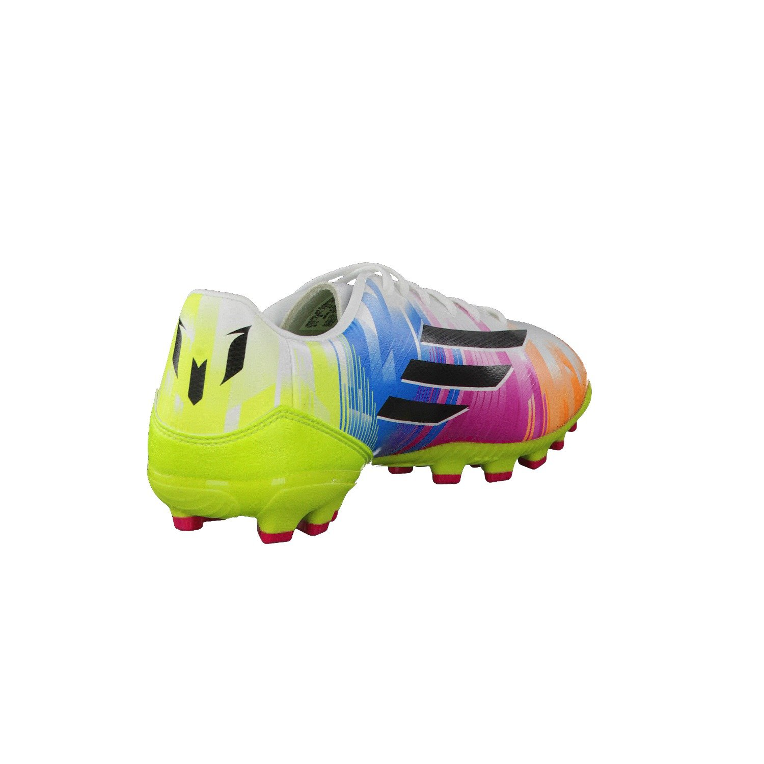 new style 1e852 28b8e Adidas Fussballschuhe F10 TRX AG Messi White Running WhiteBlackSolar Slime  Size40 Amazon.co.uk Sports  Outdoors