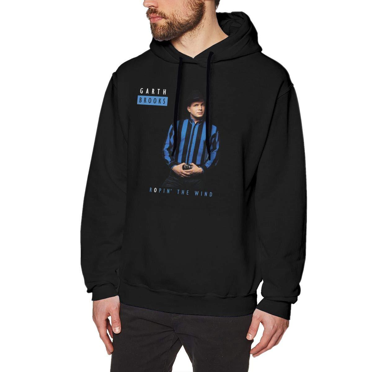 Garth Brooks Ropin The Wind S S Sweater Black Shirts