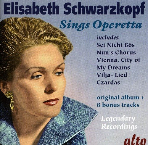 Price comparison product image Elisabeth Schwarzkopf Sings Operetta