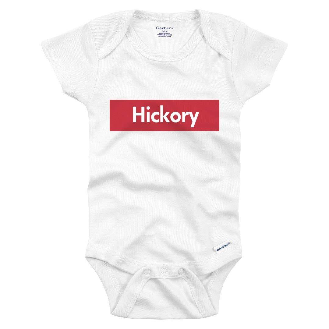 e3366e6fc2 Amazon.com: Cute Supreme Baby Hickory Love: Infant Gerber Onesie: Clothing
