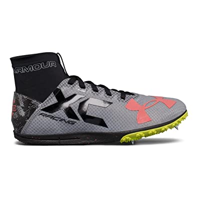 1254c2e901 Amazon.com | Under Armour UA Charged Bandit XC Spike Running Shoes ...