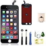 Replacement LCD Display +Touch Screen Digitizer Assembly for Iphone 6 (4.7-inch) +Tools (For iphone 6 Black)
