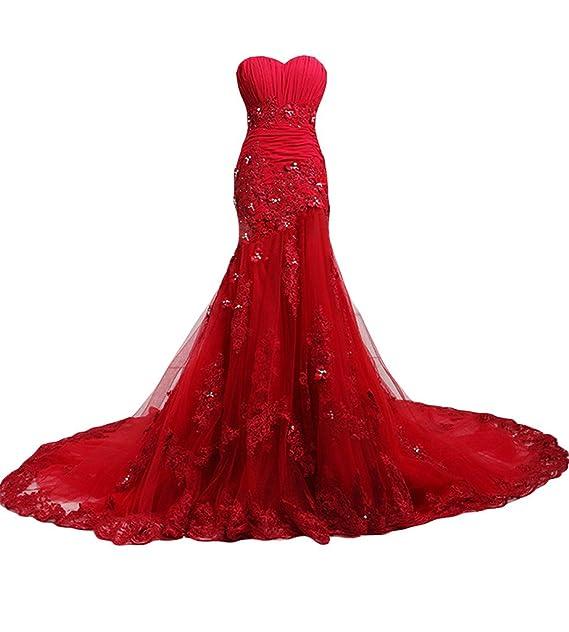 Gorgeous Bride - Vestido de novia - Mujer Rojo rosso
