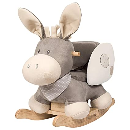 Dondolo Elefante Nattou.Nattou Dondolo A Forma Di Animale Adatto A Bambine E