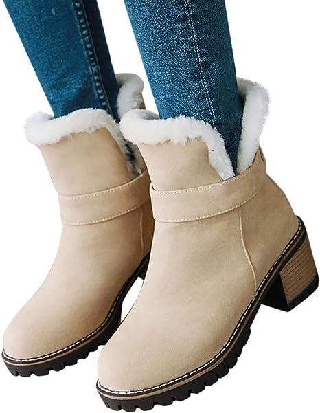 DecoStain Womens Peep Toe Tassel Button Block Heel Slippers