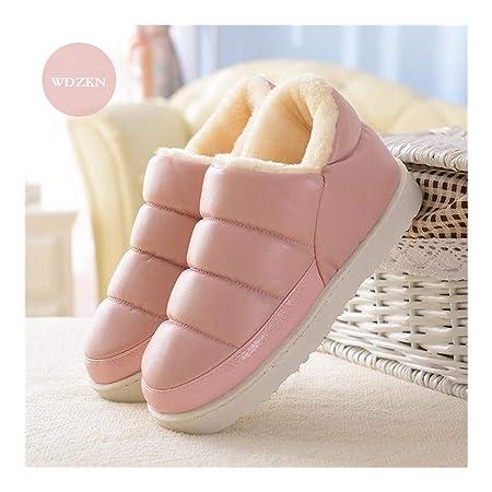 8724efedfef Zapatos Mujer Nieve del Invierno Botas Planas Caliente ...