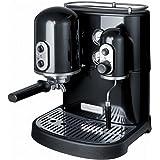 """Kitchenaid 5KES100EOB Machine à Café Espresso """"Artisan"""" Noir Onyx Manuelle"""