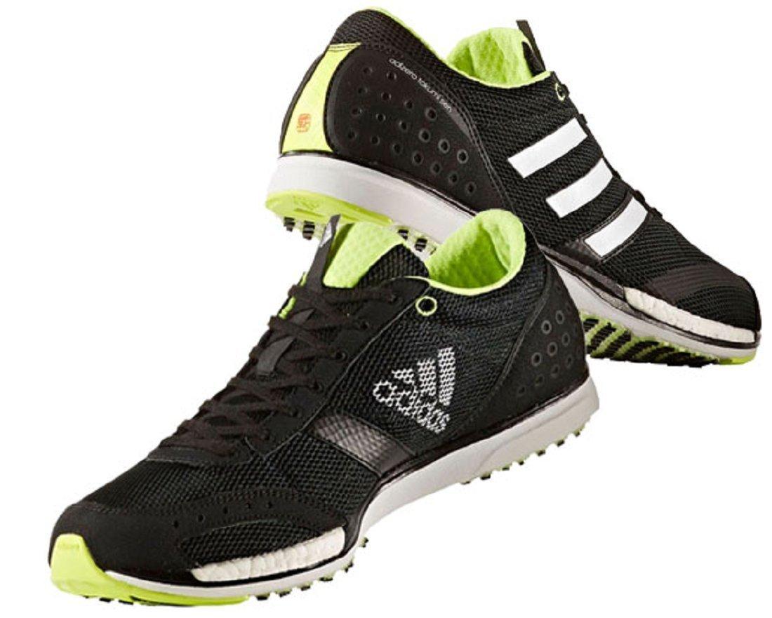 アディダス adidas ランニングシューズ 26.5cm アディゼロ タクミ セン ブースト 3 ADIZERO TAKUMI SEN BOOST 3 国内正規品 CG3053 コアブラック B07D7M6ZQ4