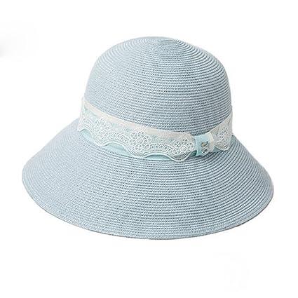 f8bcc28580836 LE Hat Female Summer Vacation Straw Hats Big Beach Beach Sun hat Seaside  Travel Sun hat