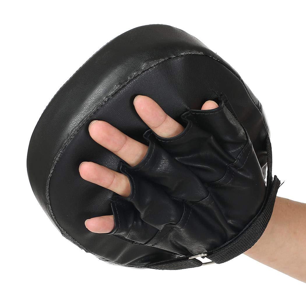 Zuionk Paire de Gants de Boxe pour entra/înement Target Focus Punch Pads