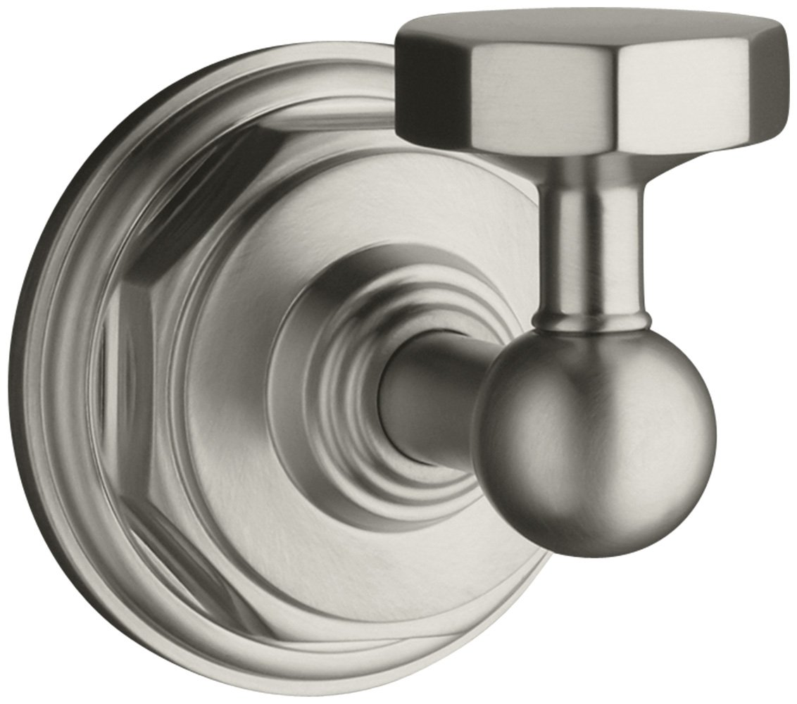 KOHLER K-13113-CP Pinstripe Robe Hook, Polished Chrome - Bath Towel ...