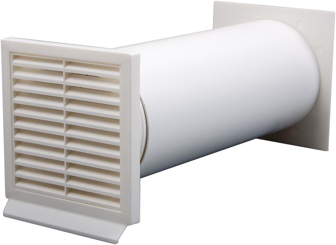 IKM 40040500 - Accesorios para campana extractora (tubos y mangueras, 125 unidades), color blanco: Amazon.es: Grandes electrodomésticos