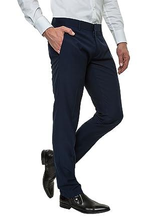 Antony Morato Herren Anzughose Slim Fit Business Look Amazon De